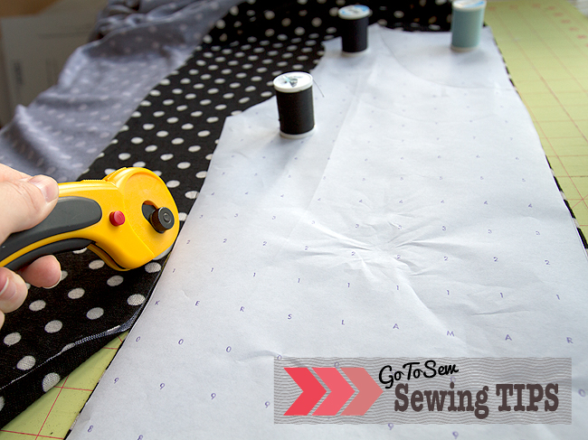 Sewing Tips: cutting out patterns - SEWTORIAL
