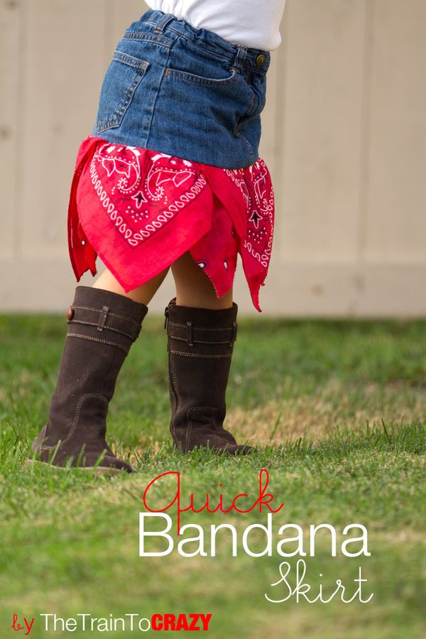 Featured Quick Bandana Skirt Sewtorial