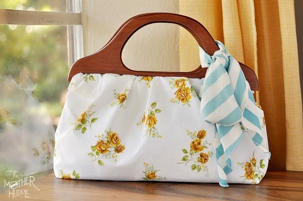 Featured Wood Handled Handbag Tutorial Sewtorial