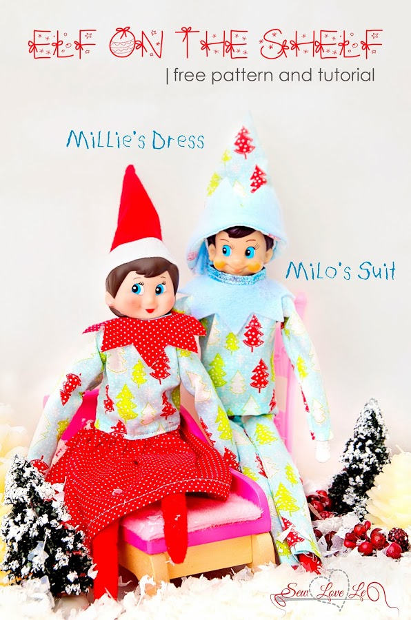 Featured Elf Of The Shelf Outfit Tutorial Sewtorial