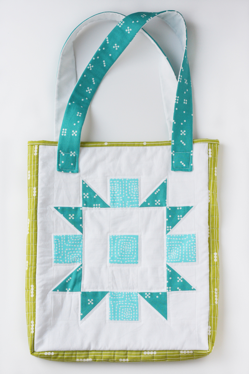 Quilted Tote Bag Tutorial Sewtorial