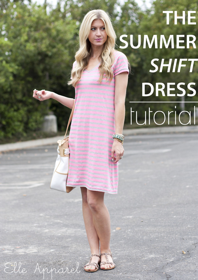 Summer Shift Dress Tutorial - SEWTORIAL