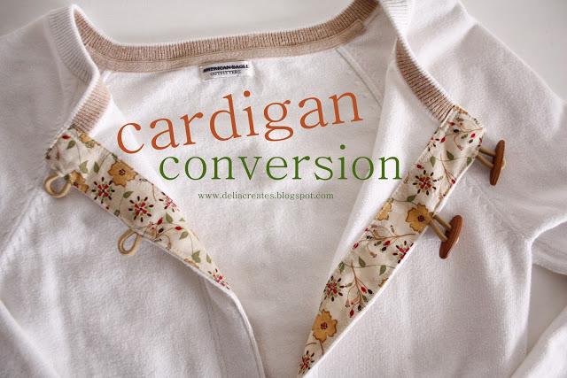 Cardigan Conversion Tutorial Sewtorial