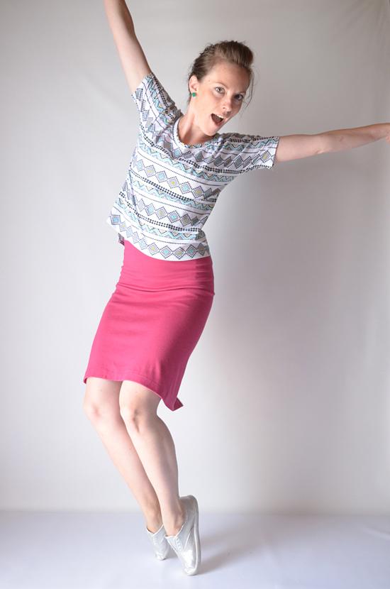 Single Seam Skirt Tutorial Sewtorial