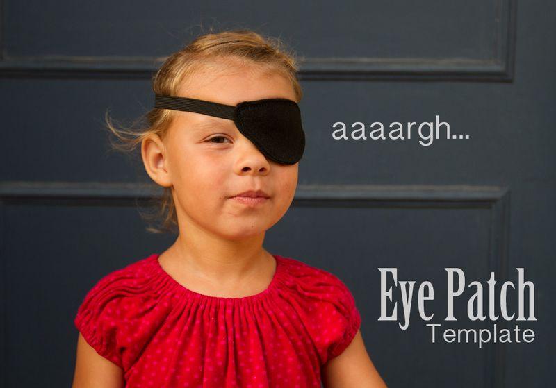 pirate s eye patch tutorial sewtorial