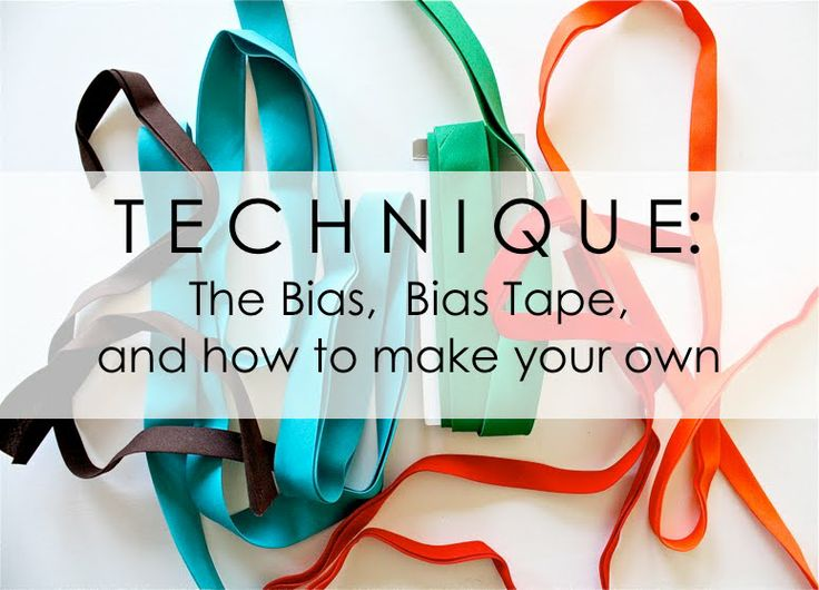 How To Make Your Own Bias Tape Sewtorial