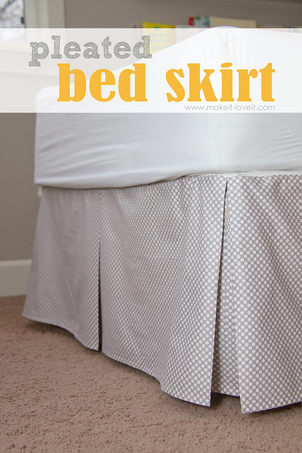 Bed Skirt Tutorial Sewtorial