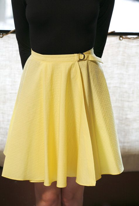 Wrap Skirt Tutorial SEWTORIAL