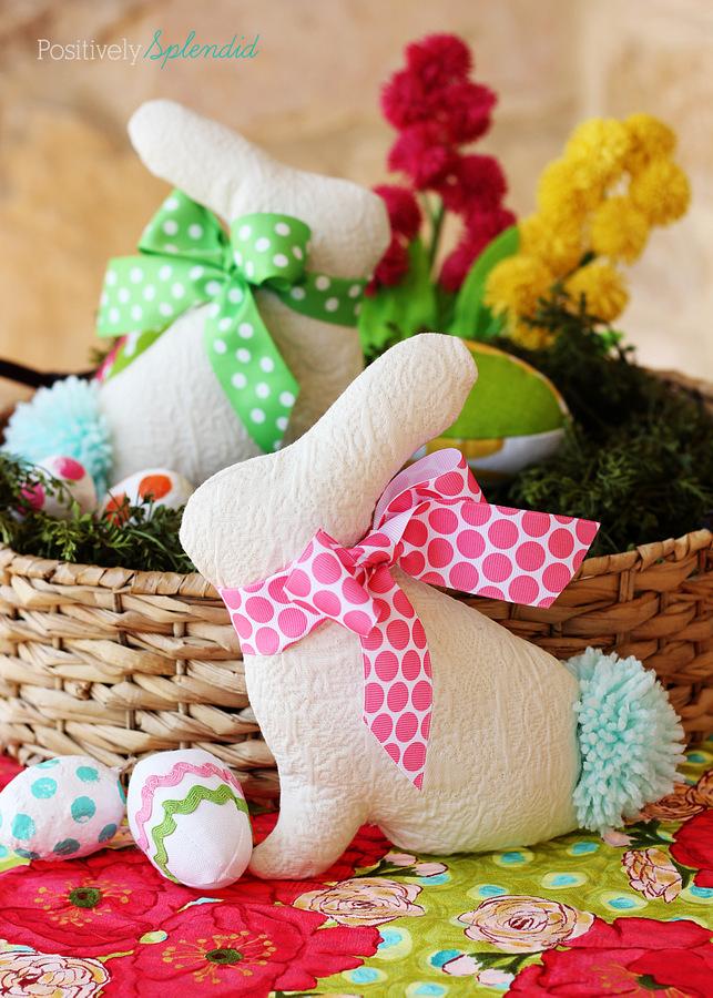 Easter Bunny Softie Sewtorial