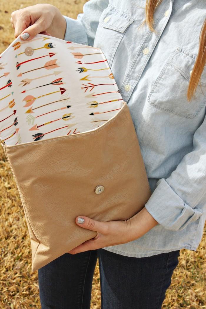 Envelope Clutch Sewtorial