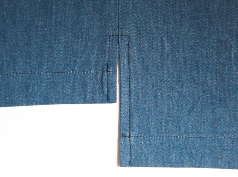 Create A Side Seam Slit Sewtorial