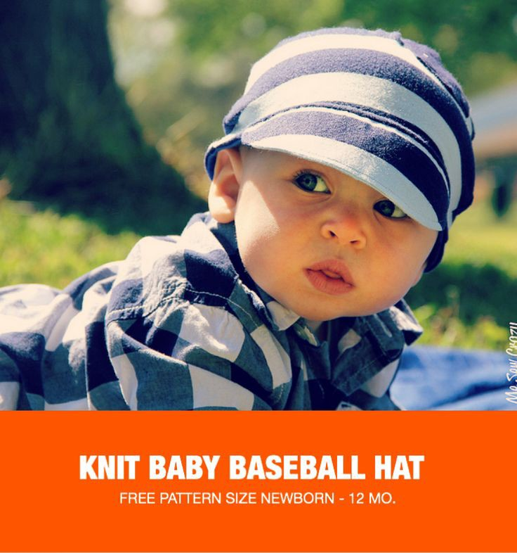 Knitted Baseball Cap Pattern images