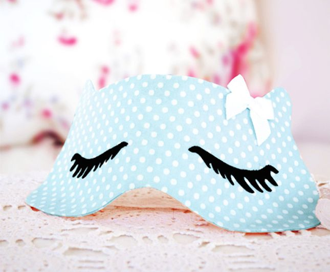 Diy Sleep Mask Sewtorial