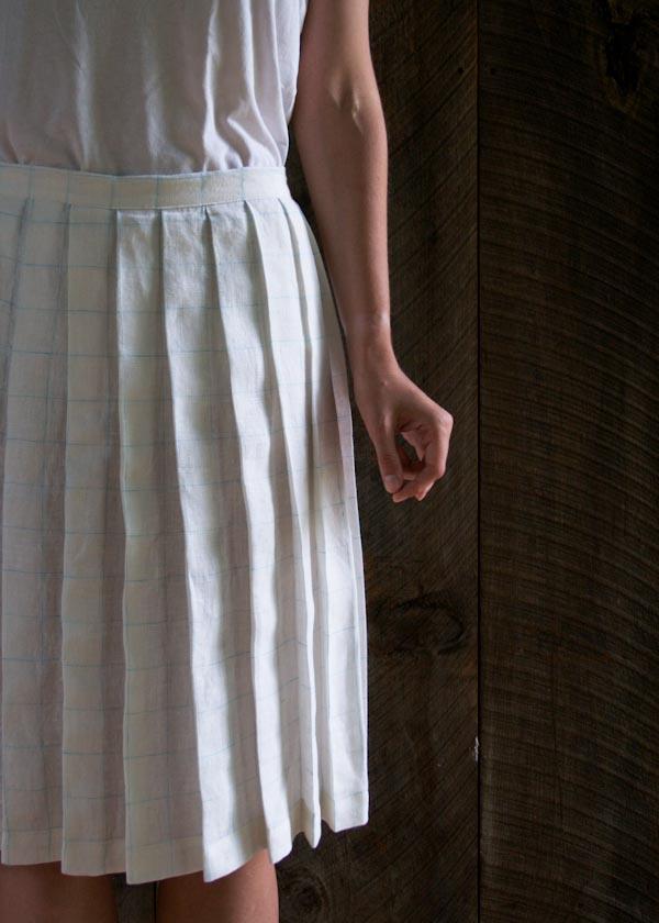 Free Pleated Skirt Pattern Sewtorial